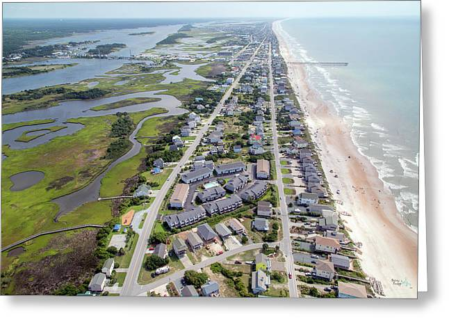 Waiting For You Topsail Island Greeting Card