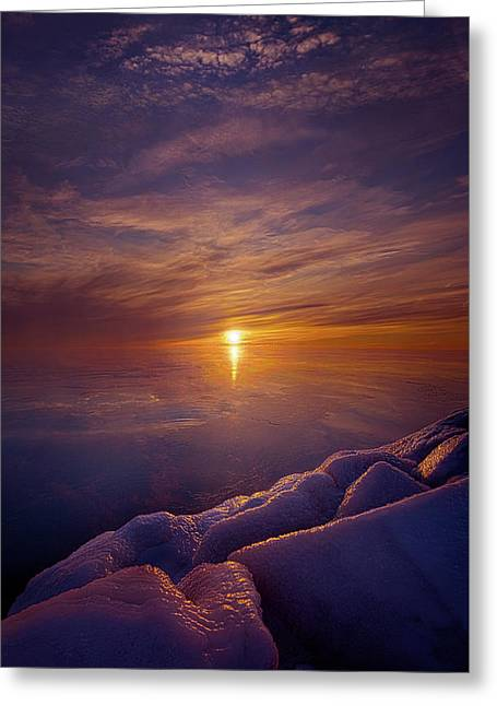 Wake The Sun Greeting Card