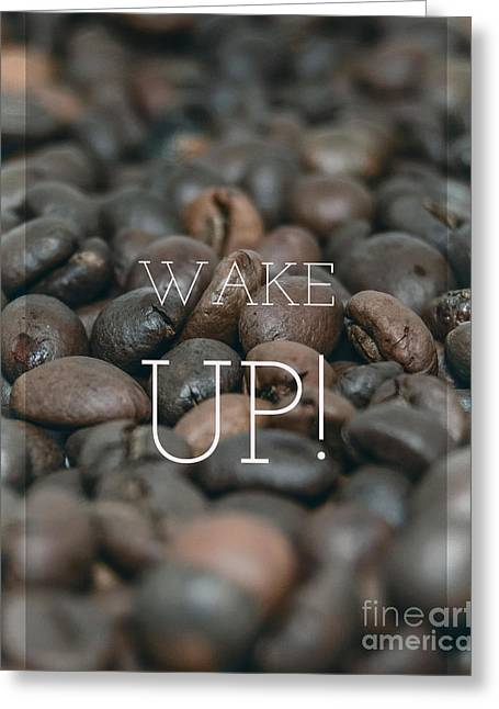 Wake Up Greeting Card by Edward Fielding