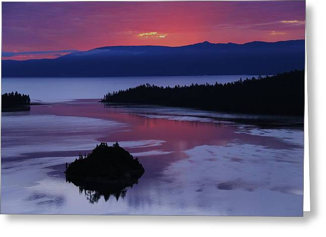 Greeting Card featuring the photograph Wake Up In Lake Tahoe  by Sean Sarsfield