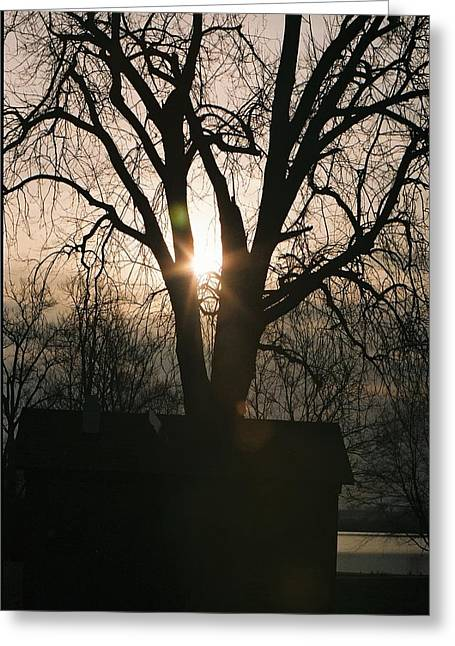 Wakonda Sunrise B Greeting Card by C E McConnell