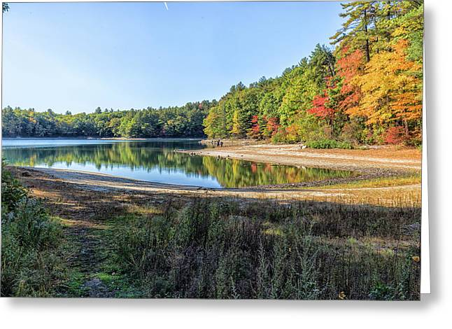 Walden Pond Greeting Card by Brian MacLean