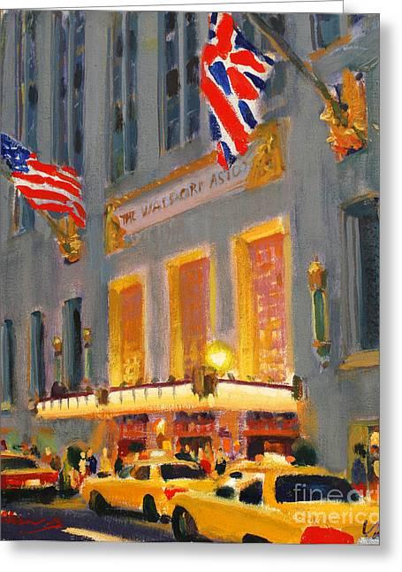 Waldorf-astoria Greeting Card