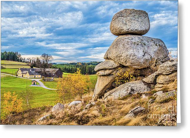 Waldviertel Greeting Card by JR Photography