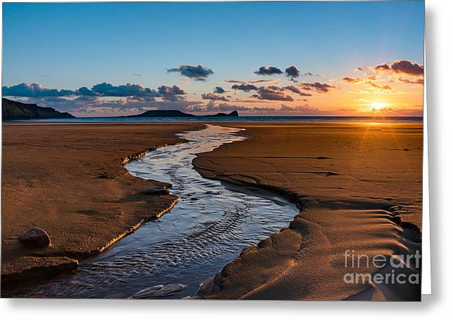 Wales Gower Coast Greeting Card