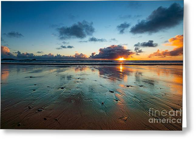 Wales Gower Coast Summer  Greeting Card