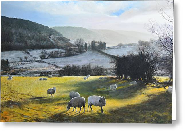 Wales. Greeting Card by Harry Robertson