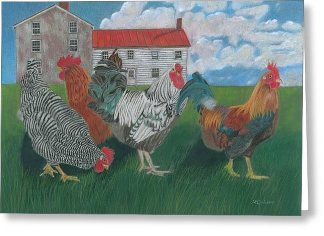Walk This Way Greeting Card by Arlene Crafton