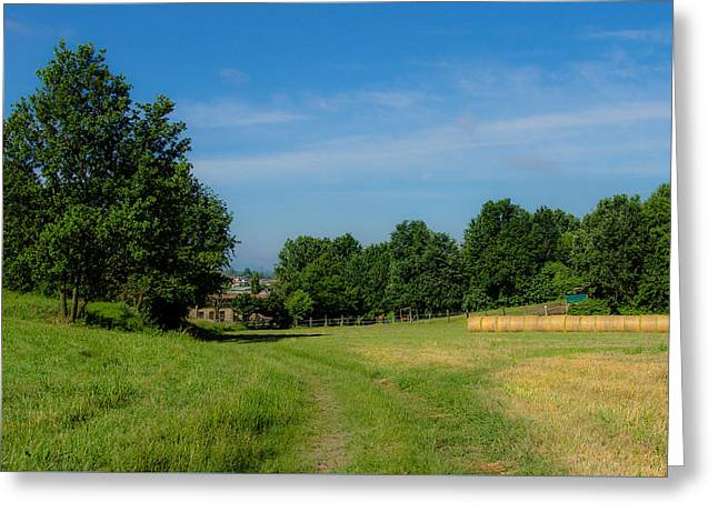 Walk To The Countryside  Greeting Card