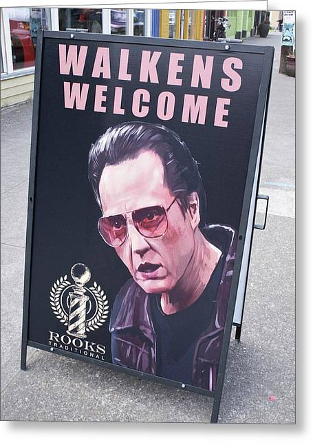 Walkens Welcome Greeting Card