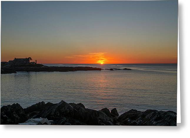 Walkers Point Kennebunkport Maine Greeting Card