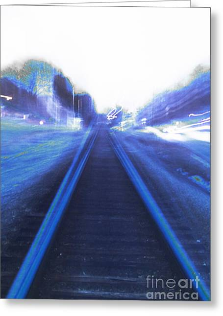 Greeting Card featuring the photograph Walking Alone by Angelique Bowman