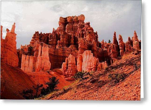 Walking Into Bryce Canyon Greeting Card