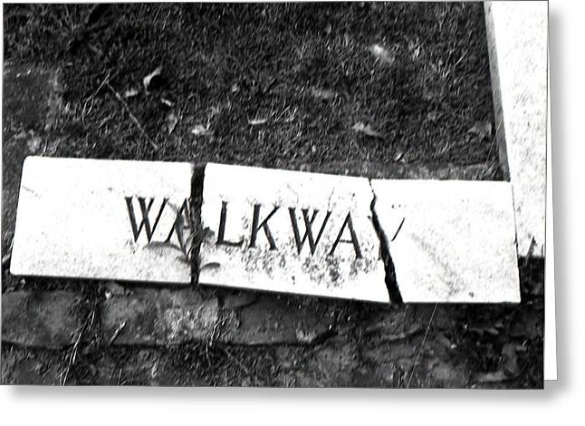 Walkway Greeting Card by Utopia Concepts