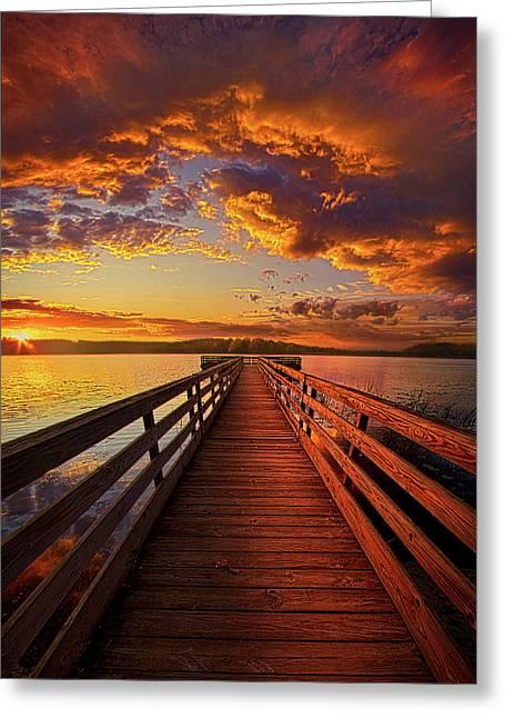 Walkyn Skywyrd Greeting Card