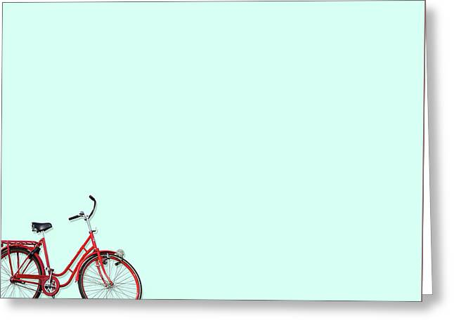 Wall Bici Greeting Card