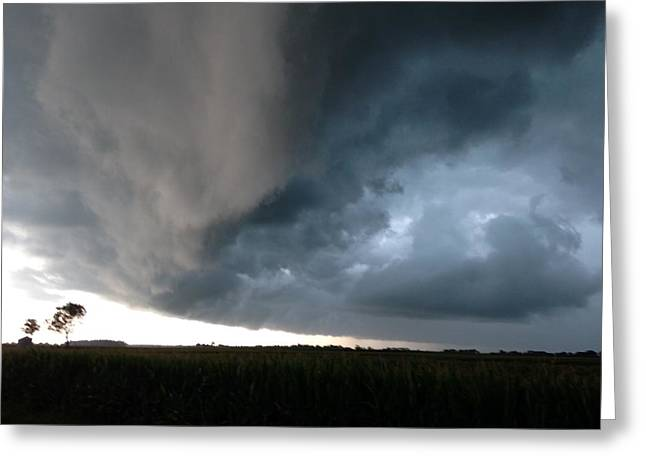 Wall Cloud By Earl's Photography Greeting Card