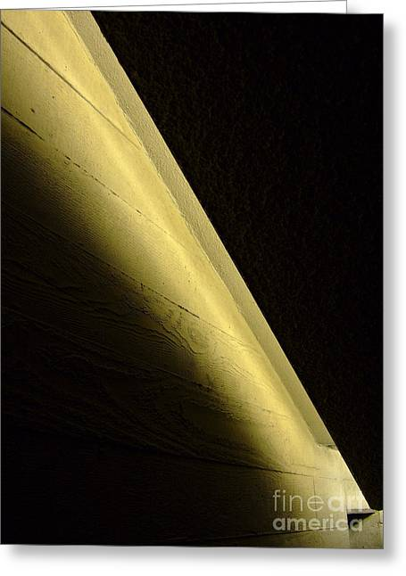 Wall Light Greeting Card by Richard Allen