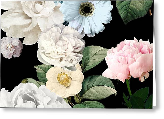 Wallflowers Greeting Card by Mindy Sommers