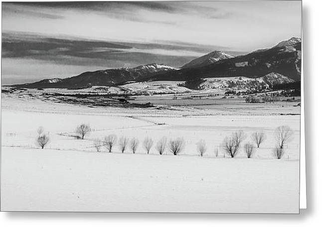Greeting Card featuring the photograph Wallowa Mountains by Cat Connor