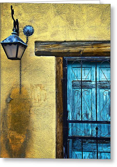Adobe Greeting Cards - Walls and Details I Greeting Card by Ray Laskowitz - Printscapes