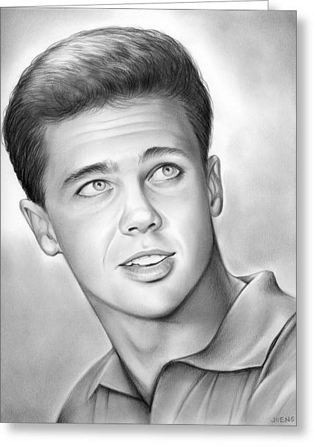 Wally Cleaver Greeting Card