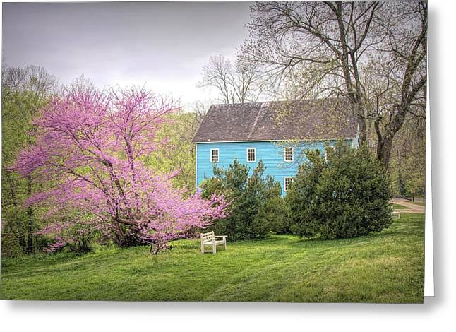 Walnford In Spring Greeting Card