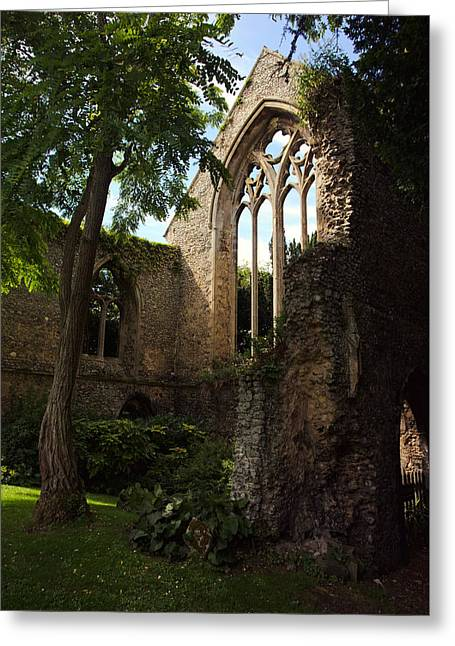 Walsingham Abbey Ruins Greeting Card