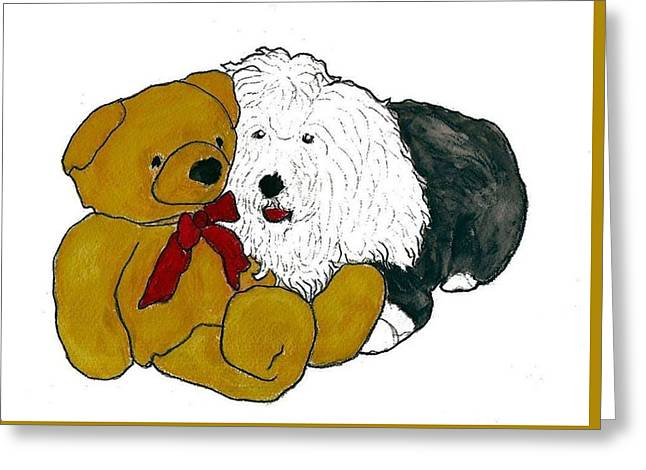 Walt And Ted Greeting Card