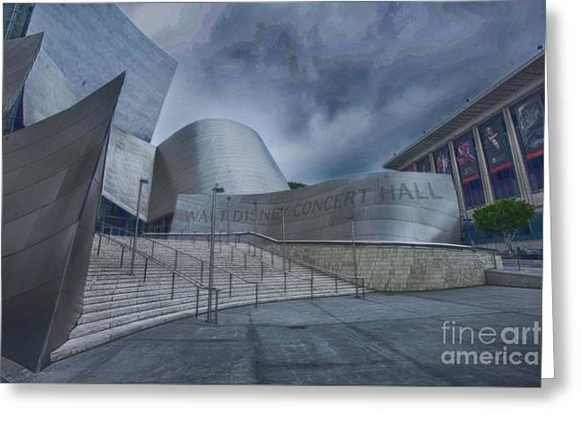 Walt Disney Concert Hall -9 Greeting Card