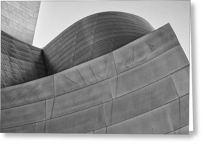 Walt Disney Concert Hall Four Greeting Card