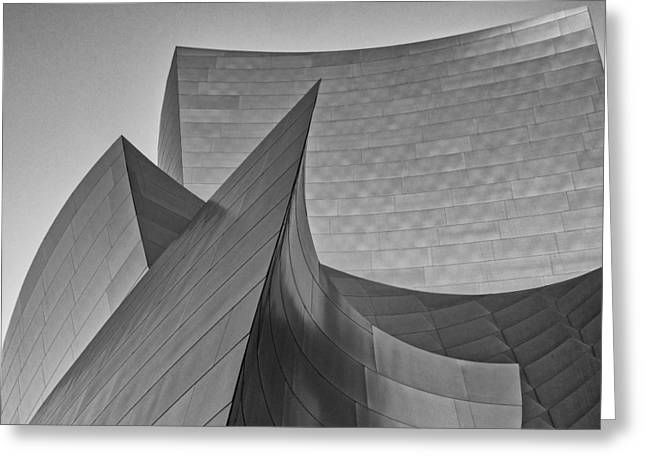Walt Disney Concert Hall Three Greeting Card