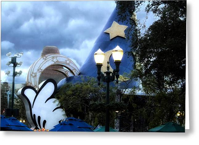 Walt Disney World Home Of The Wizard Greeting Card