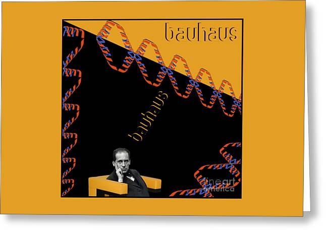Walter A. Gropius Greeting Card