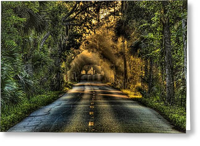 Walter Boardman Lane Greeting Card by Andrew Armstrong  -  Mad Lab Images