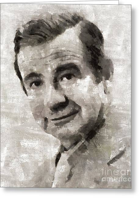Walter Matthau, Actor Greeting Card