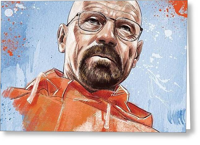 Walter White Greeting Card
