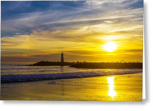 Walton Lighthouse Greeting Card