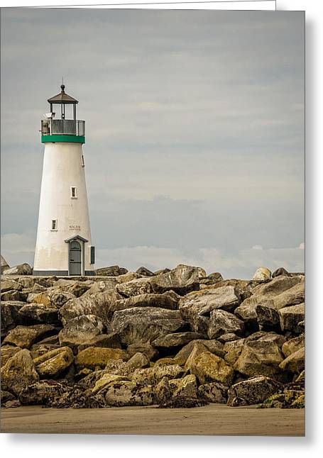 Walton Lighthouse Greeting Card by James Hammond