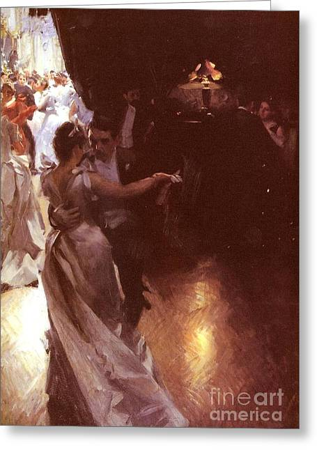 Waltz Greeting Card