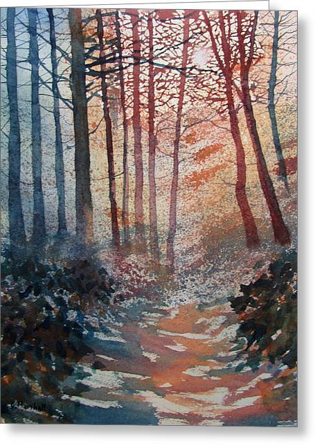 Wander In The Woods Greeting Card