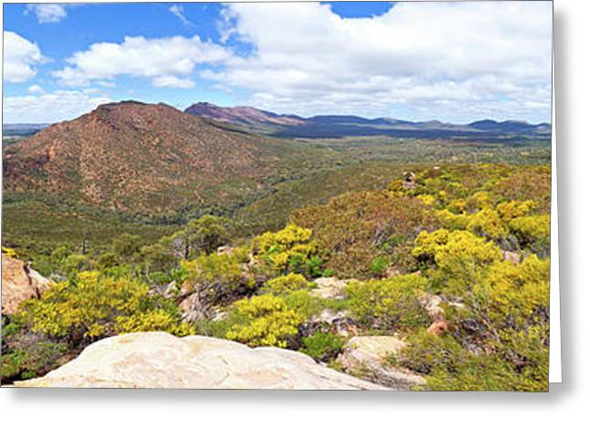Greeting Card featuring the photograph Wangara Hill Flinders Ranges South Australia by Bill Robinson