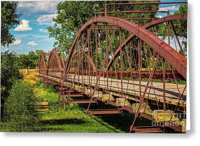 War Bridge Greeting Card by Jon Burch Photography