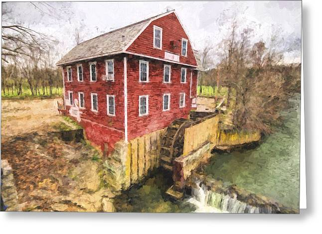 War Eagle Mill Greeting Card