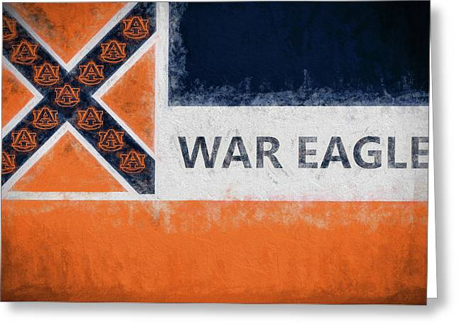 War Eagle Mississippi Greeting Card by JC Findley