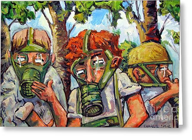 War Games Greeting Card