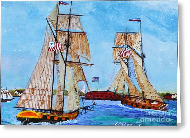 War Of 1812 In S.carolina Greeting Card