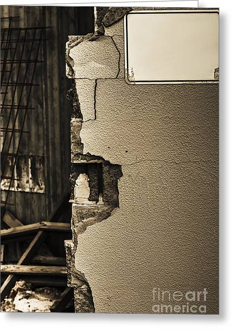 War Torn Wall Greeting Card by Jorgo Photography - Wall Art Gallery