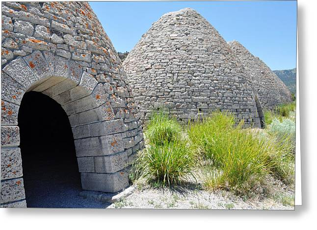 Ward Charcoal Ovens State Historic Park Greeting Card
