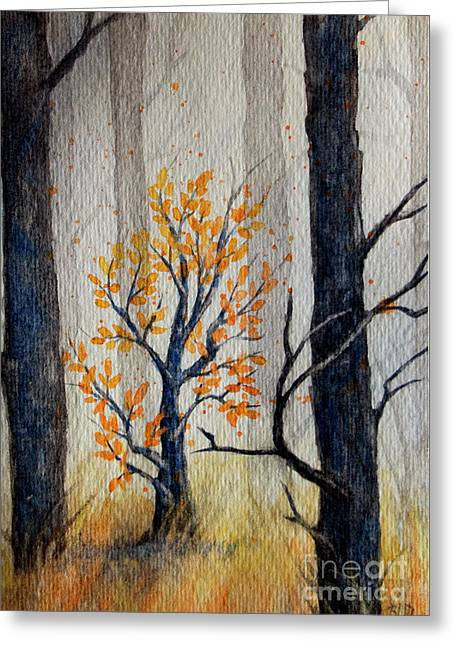 Warmth In Winter Greeting Card